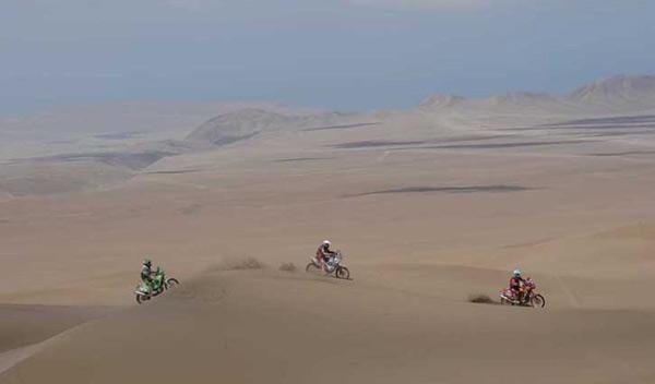 Dakar 2012 decima etapa motos