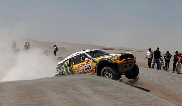 Dakar 2012 undécima etapa nani roma
