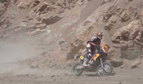 Dakar 2012 undécima etapa despres