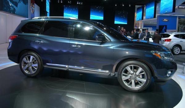 Nissan Pathfinder Concept Salón Detroit 2012