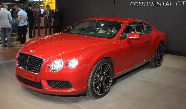 Bentley Continental GT V8 Salón Detroit 2012