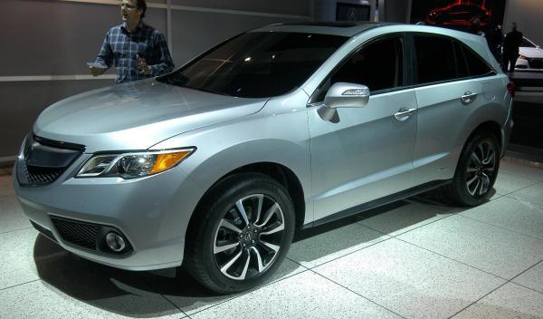 Acura RDX Salón de Detroit 2012