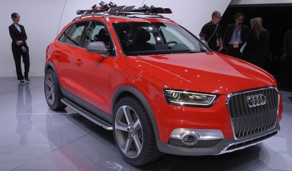 Audi Q3 Vail Salón de Detroit 2012
