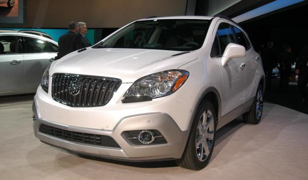 Buick Encore Salón de Detroit 2012