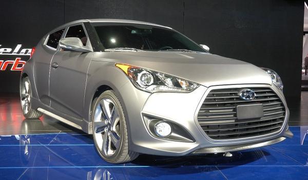 Hyundai Veloster Salón de Detroit 2012