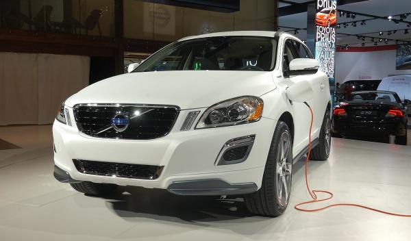 Volvo XC60 Plug-in Hybrid Concept  Salón de Detroit 2012