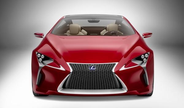 Lexus LF-LC Concept exterior frontal