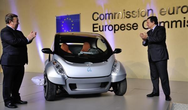 Coche eléctrico Hiriko Comisión Europea