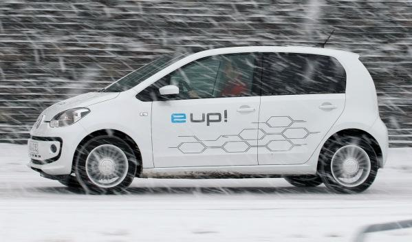 Volkswagen e-up! lateral