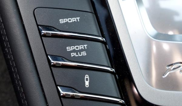 Porsche Panamera GTS botonera