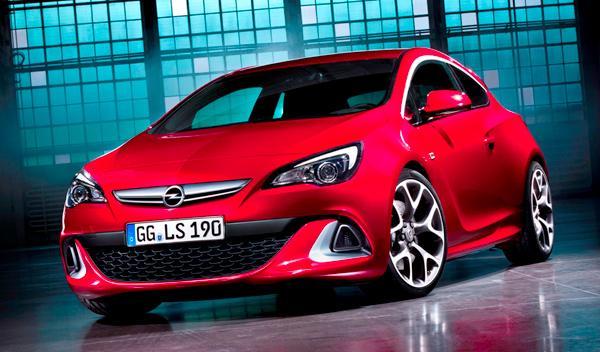 Opel Astra OPC delantera