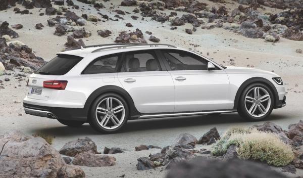 Nuevo Audi A6 allroad trasera
