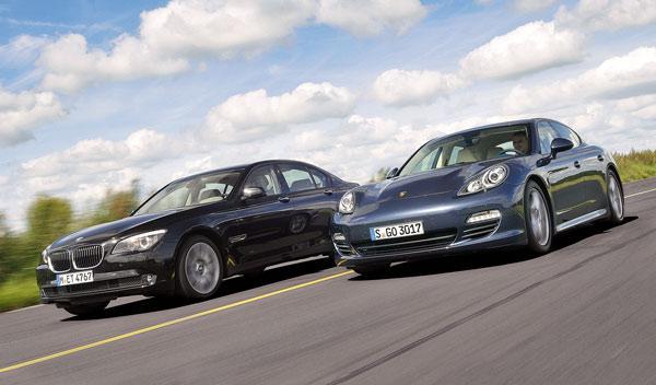Porsche Panamera Diesel vs BMW 730d