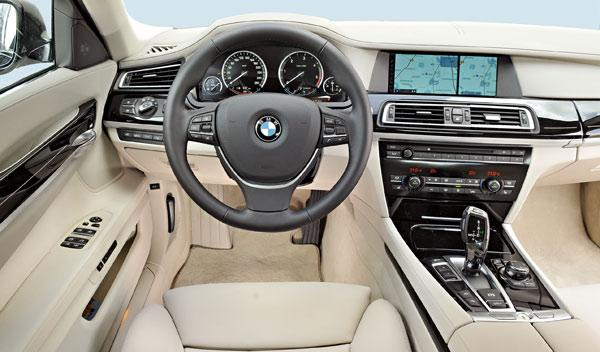 BMW 730d salpicadero
