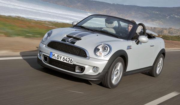 Mini roadster nuevo blanco febrero