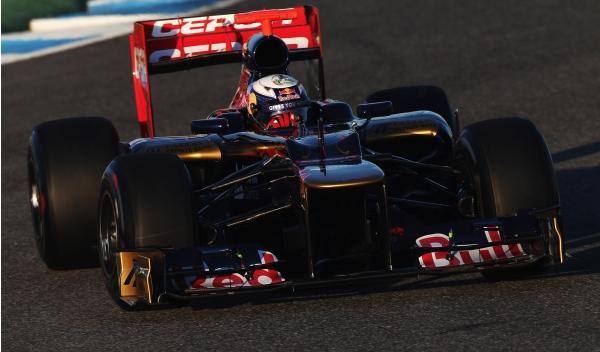 Daniel Ricciardo-Toro Rosso
