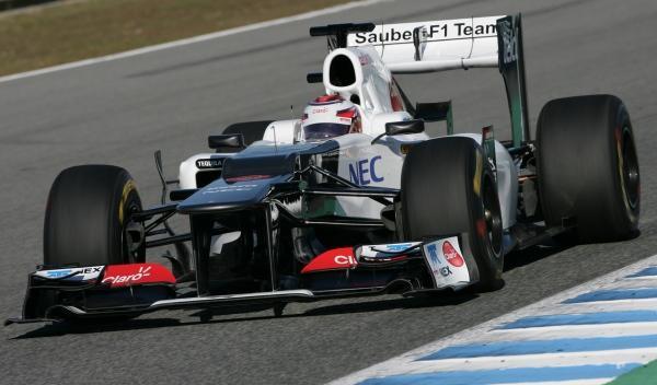 Kamui Kobayashi-Sauber