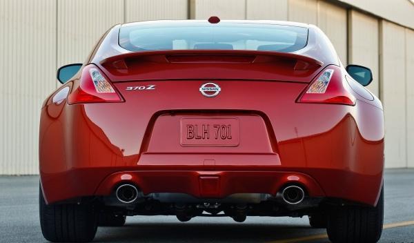 Nissan 370Z 2013 trasera estática