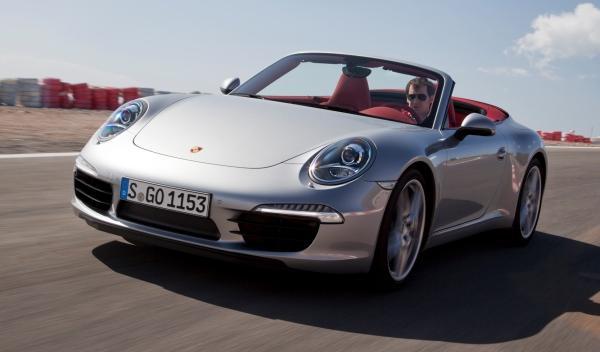 Delantera del Porsche 911 Cabriolet