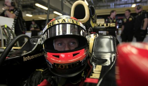 Romain Grosjean-Lotus