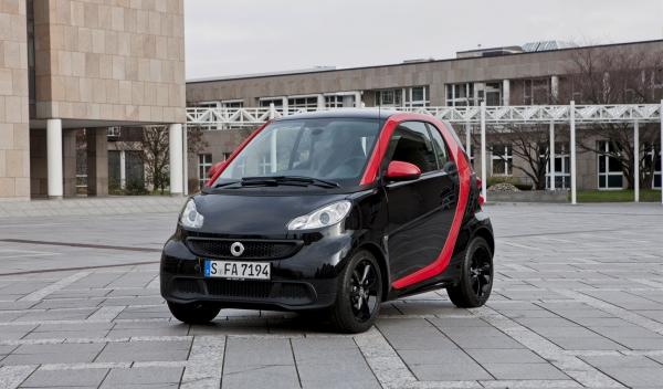 Smart Fortwo Sharpred frontal