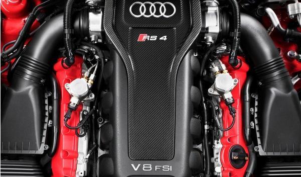 Audi RS 4 motor