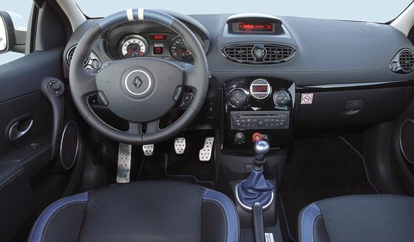 Renault Clio RS Gordini salpicadero