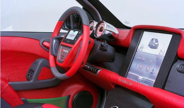 Rinspeed Dock+Go volante