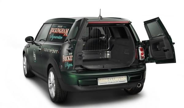 Mini Clubvan Concept trasera