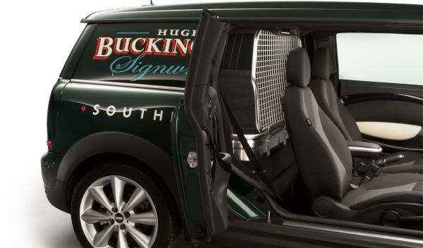 Mini Clubvan Concept Interior