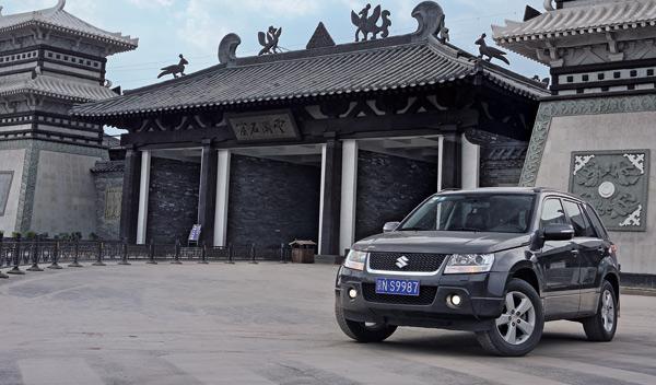 Suzuki Grand Vitara China templo