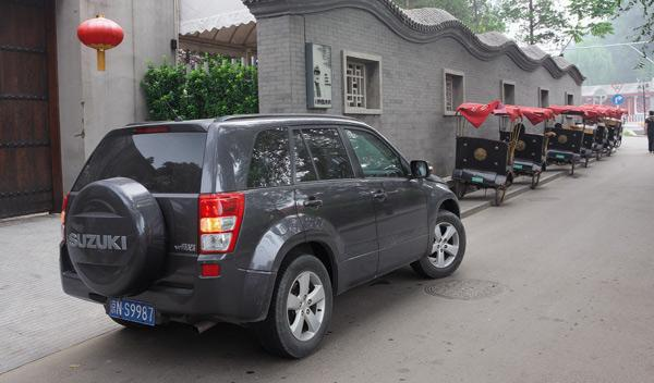 Suzuki Grand Vitara China taxis