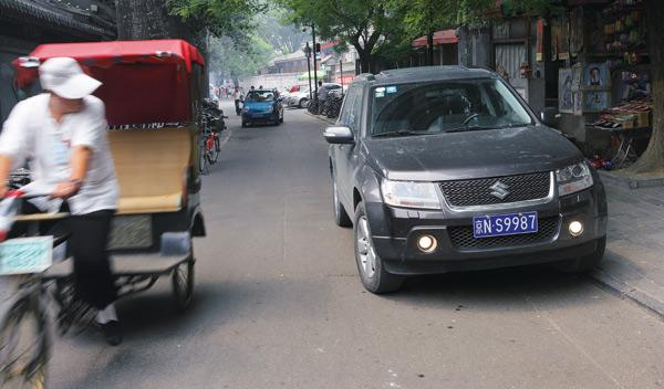 Suzuki Grand Vitara China taxi