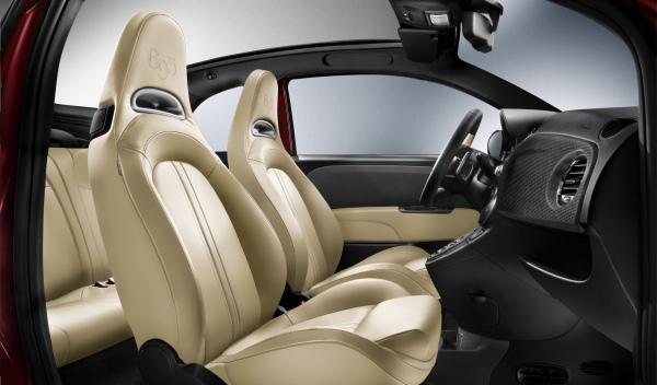Abarth 695 Tributo Maserati interior