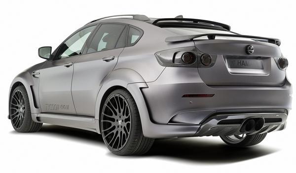 Hamman Tycoon EVO M parte trasera para el BMW X6.