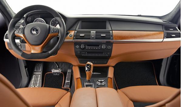 Hamman Tycoon EVO M: interior para el BMW X6.