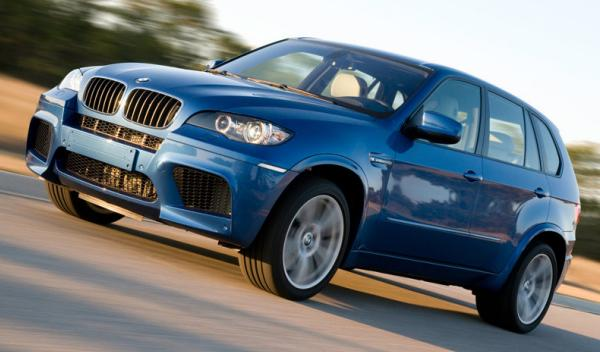 Los coches de la Universidad George Washington: BMW X5 M