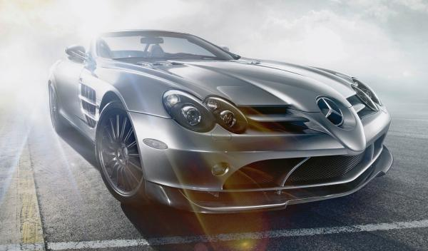 Los coches de la Universidad George Washington: McLaren SLR 722 S Roadster