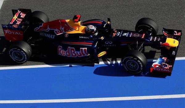 Sebastian Vettel-Red Bull RB8