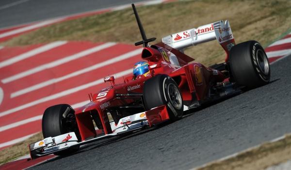 Fernando Alonso-Ferrari F2012