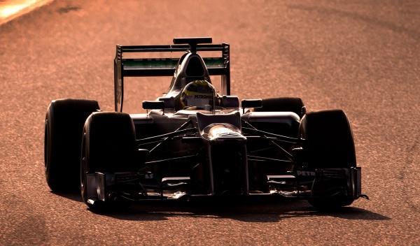 Nico Rosberg-Mercedes F1 W03