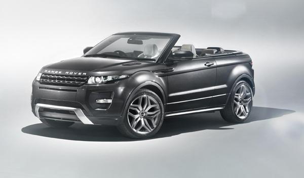 Range Rover Evoque Cabrio Concept Salon Ginebra 2012