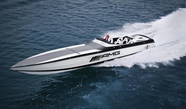 AMG Black Series 50'Marauder Cigarette mar