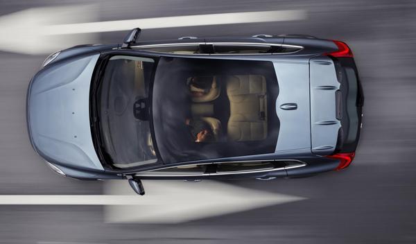 Volvo V40 techo