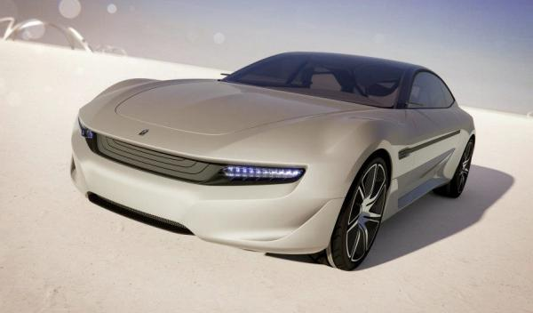 Pininfarina Cambiano Concept frontal