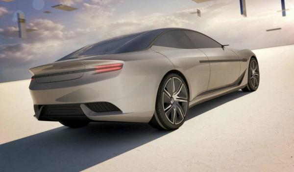 Pininfarina Cambiano Concept trasera