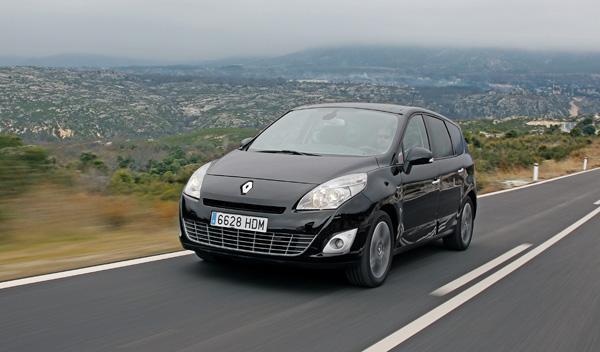 renault grand scenic motor consumo