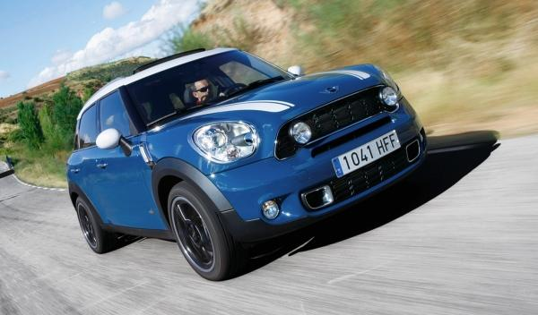 Mini Countryman Cooper SD ALL4 frontal