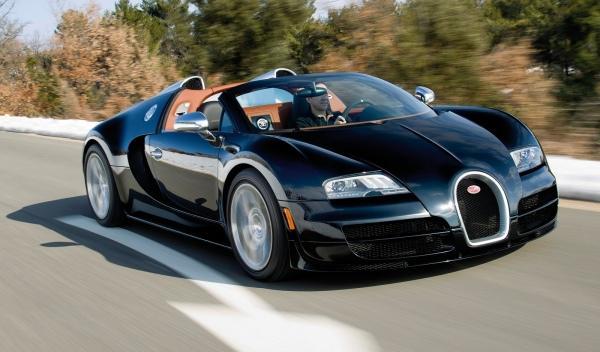 Bugatti Veyron Grand Sport Vitesse frontal