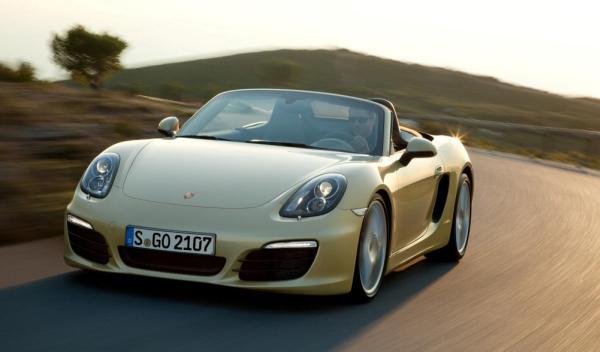 Porsche Boxster Salón de Ginebra 2012 frontal